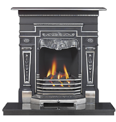 Wensleydale Highlight Cast Iron Combination Fireplace